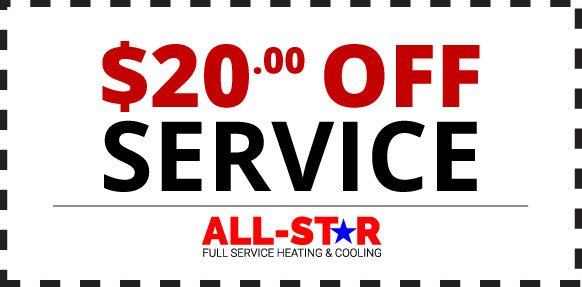 Save $20 on your next service call with All Star Mechanical!